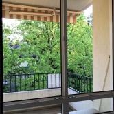 Blick aus dem Wohnzimmerfenster