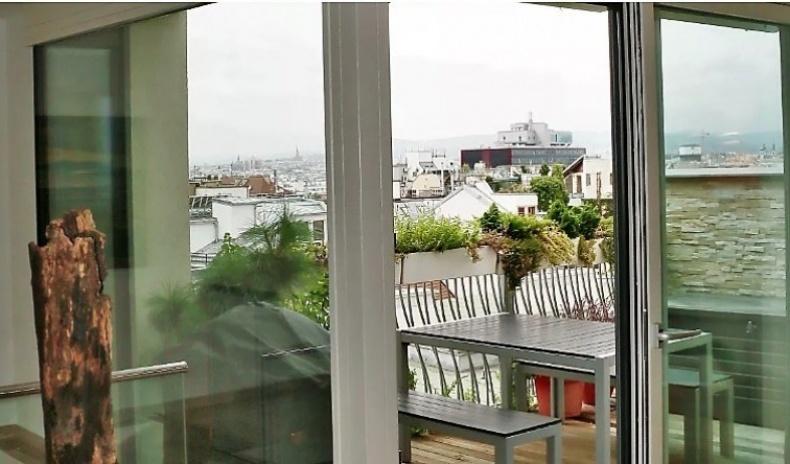 Wohnzimmer-Terrasse